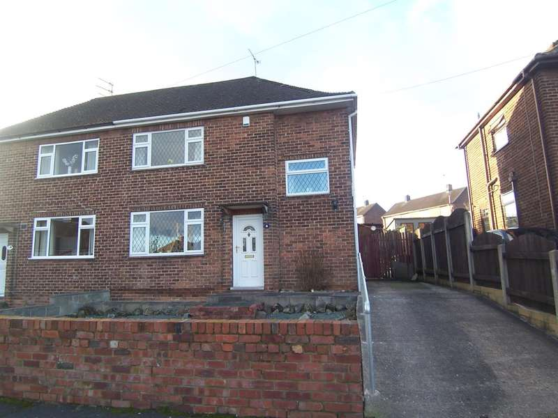 3 Bedrooms Semi Detached House for sale in Groome Avenue, Loscoe
