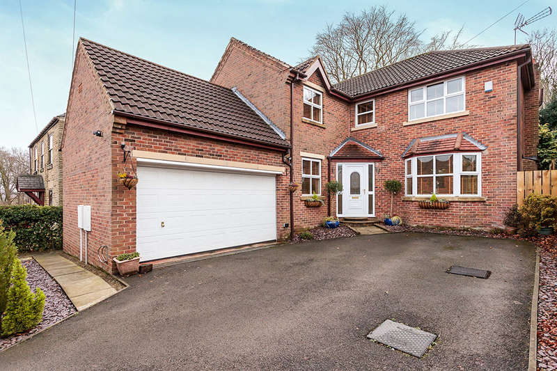 5 Bedrooms Detached House for sale in Moor End Lane, Silkstone Common, Barnsley, S75