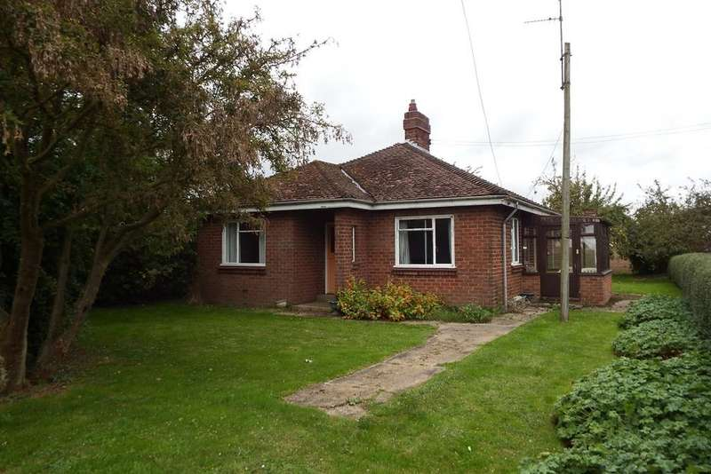 3 Bedrooms Detached Bungalow for sale in Parson Drove, West Pinchbeck, PE11