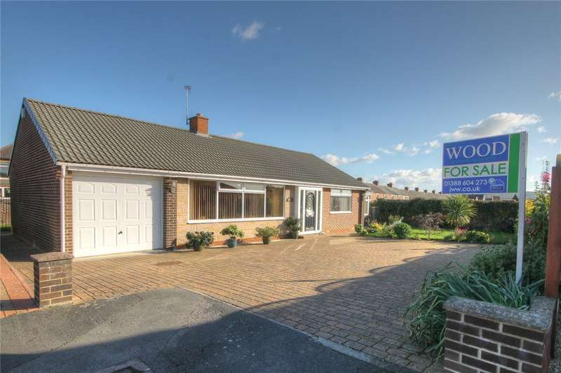 3 Bedrooms Detached Bungalow for sale in Walmer Avenue, Bishop Auckland, Co Durham, DL14