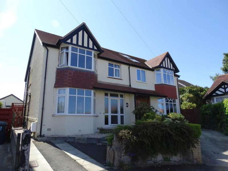 4 Bedrooms Semi Detached House for sale in 11 Dinerth Park, Rhos on Sea, LL28 4EZ