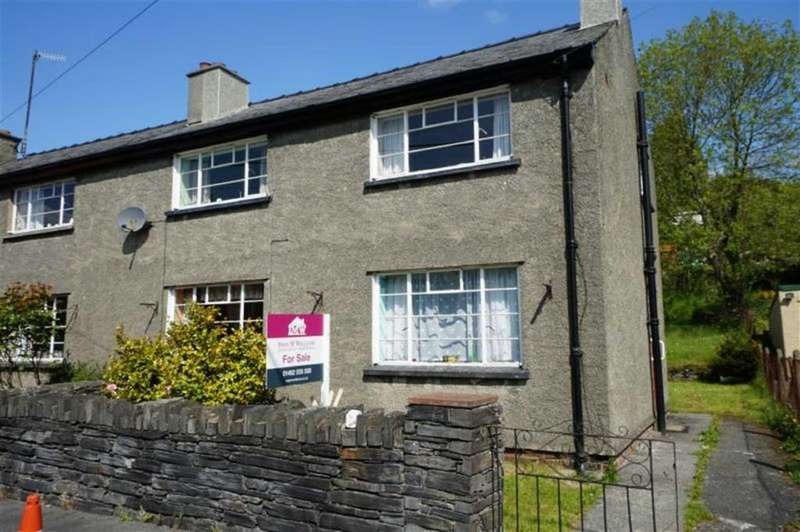 3 Bedrooms Semi Detached House for sale in Dolwyddelan, Conwy