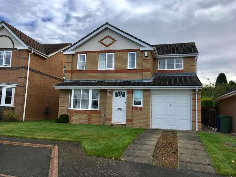 4 Bedrooms Detached House for rent in Dene Close, Felton, Northumberland, NE65