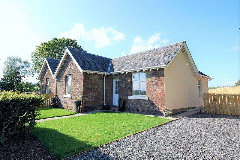 2 Bedrooms Semi Detached Bungalow for sale in 2 West Cottages, Knockdon by Maybole KA19 8EH