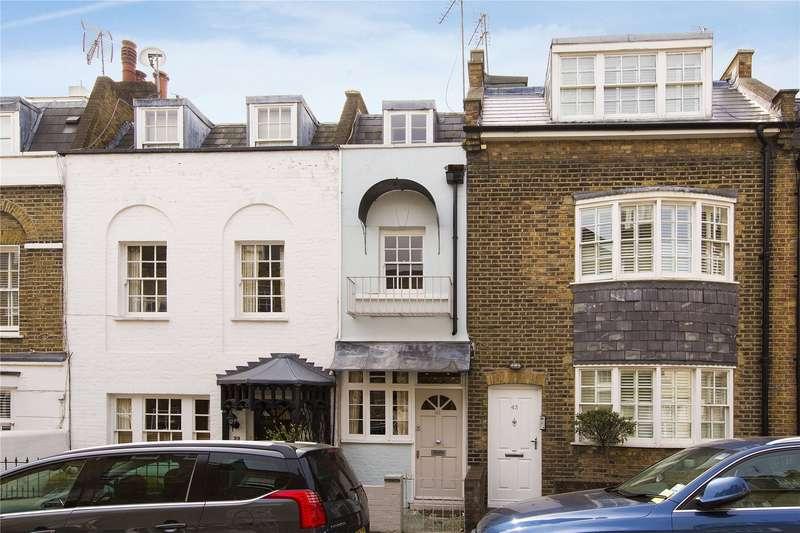 2 Bedrooms Terraced House for sale in Peel Street, Kensington, London, W8