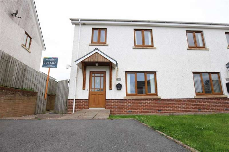 4 Bedrooms Semi Detached House for sale in Caer Wylan, Llanbadarn Fawr, Aberystwyth