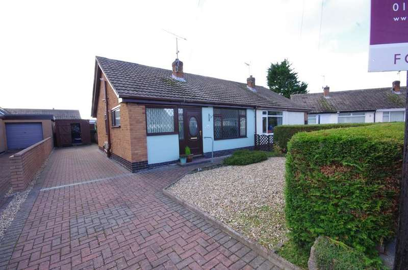 2 Bedrooms Semi Detached Bungalow for sale in Exeter Close, Prestatyn