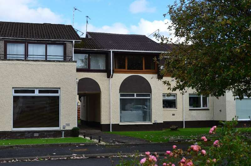 2 Bedrooms Apartment Flat for sale in Lachlan Crescent, Erskine, Renfrewshire, PA8 6HJ