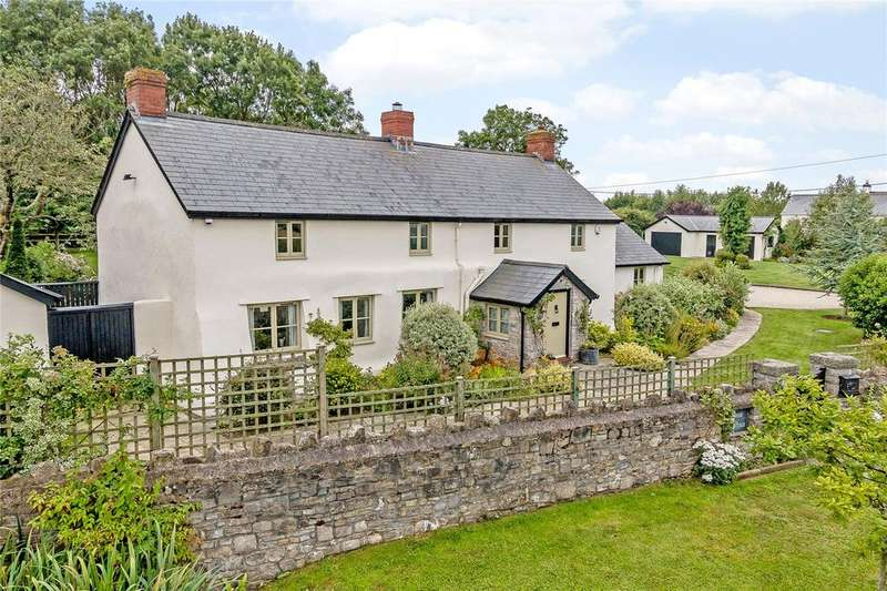 4 Bedrooms Detached House for sale in Nurston, Nr Rhoose, Vale Of Glamorgan, CF62