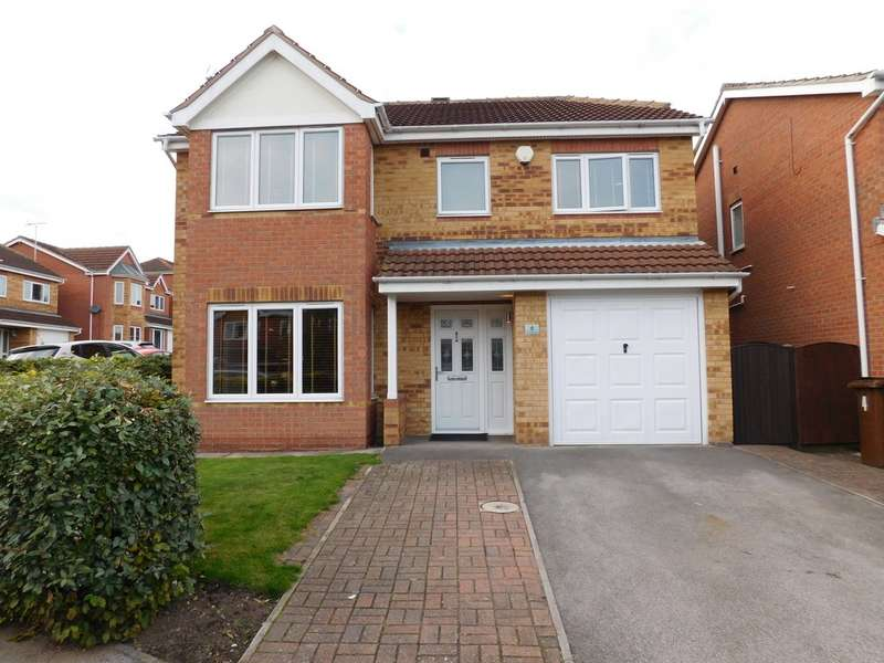 4 Bedrooms Detached House for sale in Grizedale Rise, Forest Town NG19
