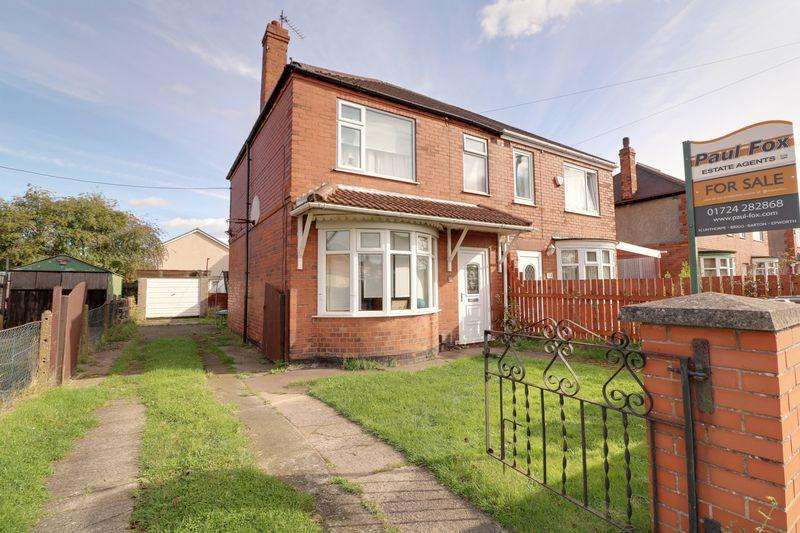 3 Bedrooms Semi Detached House for sale in Warley Road Scunthorpe