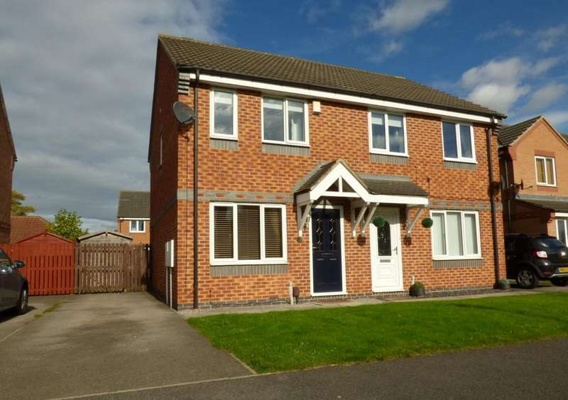 2 Bedrooms Semi Detached House for sale in Sir Douglas Park, Thornaby, Stockton-On-Tees, TS17