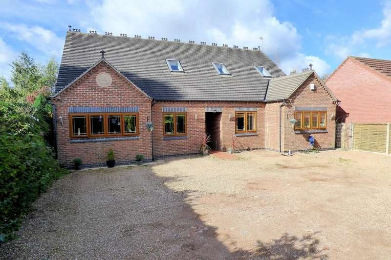 5 Bedrooms Detached Bungalow for sale in Burton Road, Woodville