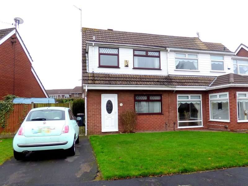3 Bedrooms Semi Detached House for sale in Mellor Close, Tarbock Green, Liverpool