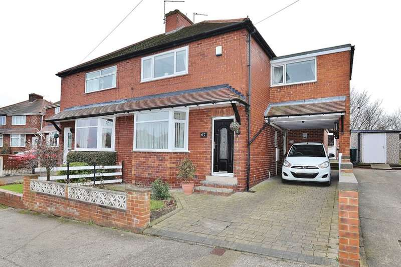 3 Bedrooms Semi Detached House for sale in Aldham Crescent, Wombwell, Barnsley, S73