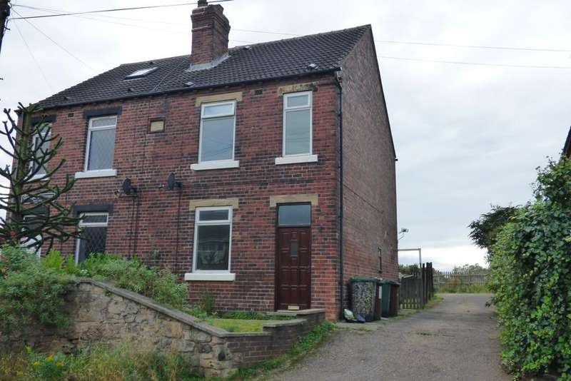 3 Bedrooms Semi Detached House for sale in Grange Cottages, Box Lane, Pontefract WF8