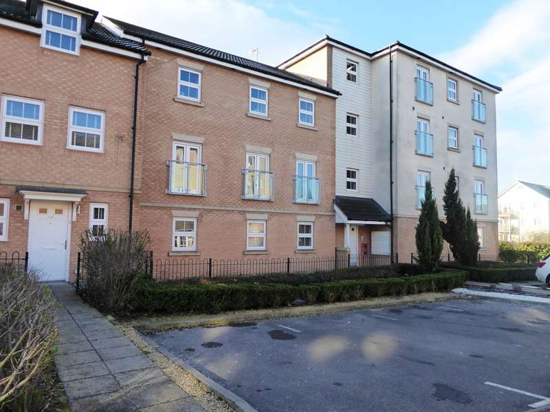 2 Bedrooms Flat for sale in Whites Way, Hedge End, Southampton, SO30
