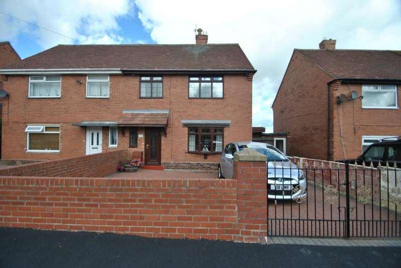 3 Bedrooms Semi Detached House for sale in Watling Avenue, Westlea, Seaham, Co Durham,