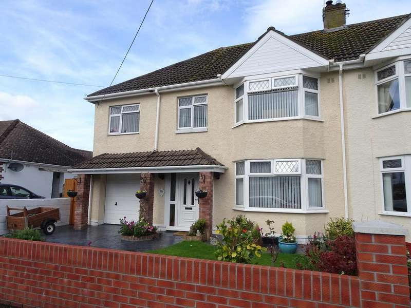 5 Bedrooms Semi Detached House for sale in NEWTON NOTTAGE ROAD, PORTHCAWL, CF36 5EA