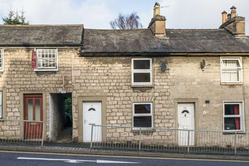 2 Bedrooms Terraced House for sale in 61 Windermere Road, Kendal, Cumbria LA9 5EP