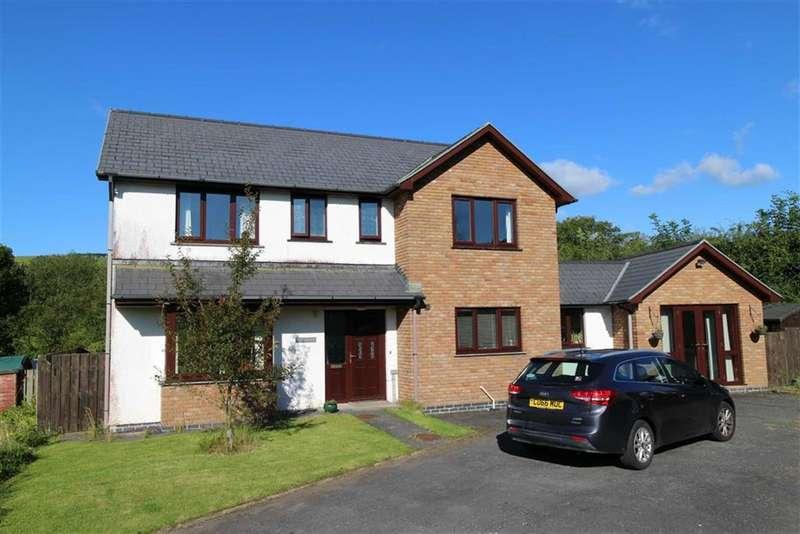 4 Bedrooms Detached House for sale in Clos-Y-Llan, Lledrod, Aberystwyth