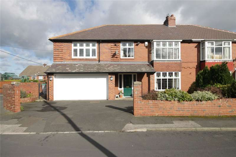 5 Bedrooms Semi Detached House for sale in Alston Terrace, Bridgehill, Consett, DH8