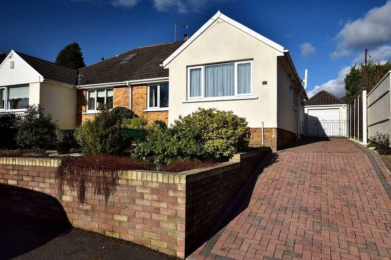 2 Bedrooms Semi Detached Bungalow for sale in Lon Cae Porth , Rhiwbina, Cardiff. CF14 6QL