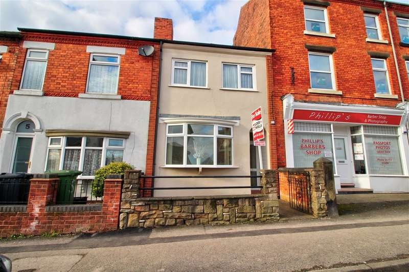 3 Bedrooms End Of Terrace House for sale in Godfrey Street, Heanor