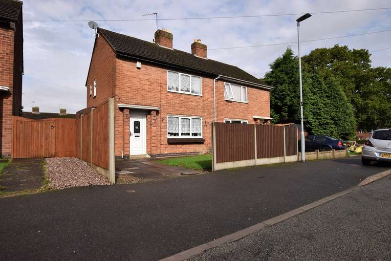 2 Bedrooms Semi Detached House for sale in Mount Avenue, Barwell LE9
