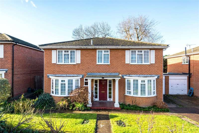 5 Bedrooms Detached House for sale in Chartwell Place, Epsom, Surrey, KT18
