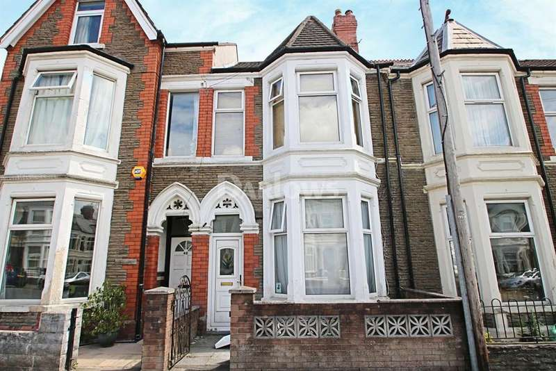 4 Bedrooms Terraced House for sale in Monthermer Road, Cathays, Cardiff