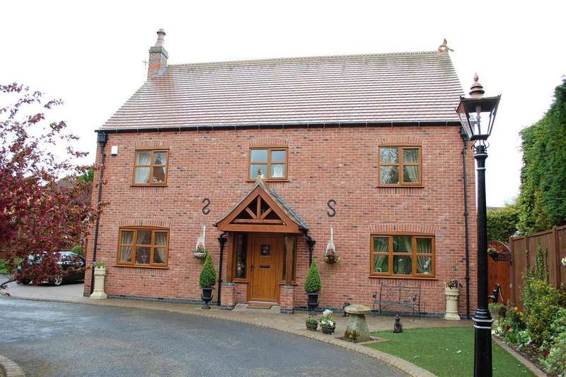 4 Bedrooms Detached House for sale in Cooks Lane, Wigston
