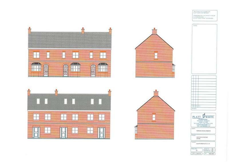 3 Bedrooms Town House for sale in Heathfield Avenue, Crewe