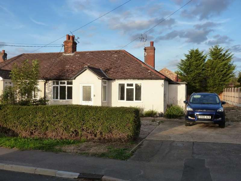 3 Bedrooms Semi Detached Bungalow for sale in Mayland Green, Mayland