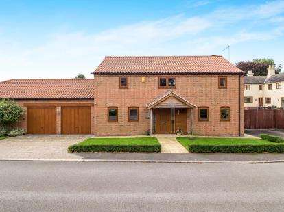4 Bedrooms Link Detached House for sale in Whipling Close, Whatton, Nottingham, Nottinghamshire