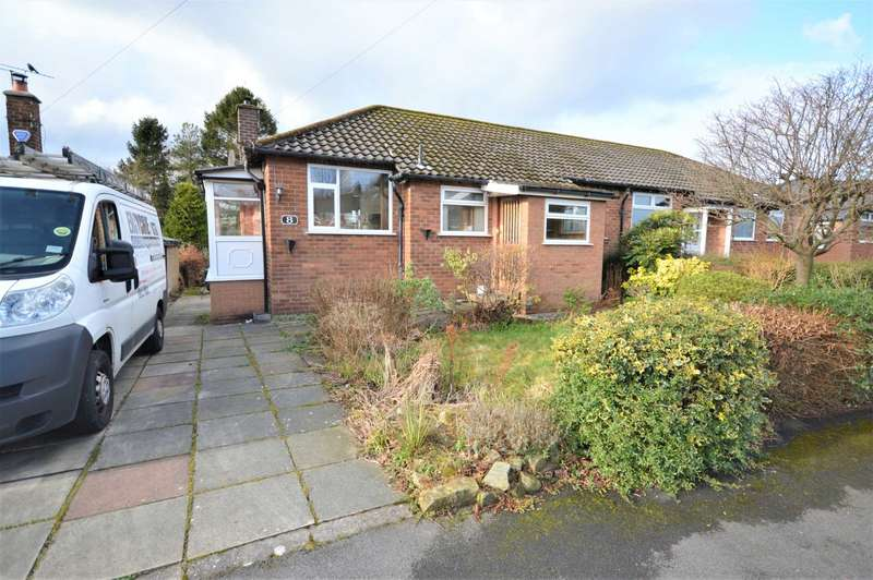 2 Bedrooms Semi Detached Bungalow for sale in Cromley Road, High Lane