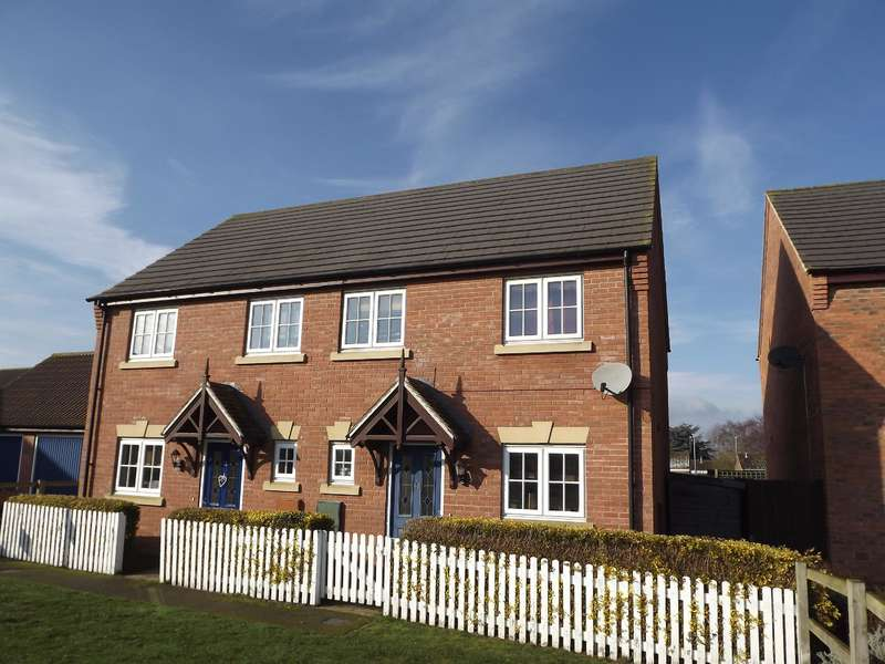 3 Bedrooms Semi Detached House for sale in Kings Manor, Coningsby, Lincoln, LN4 4TJ