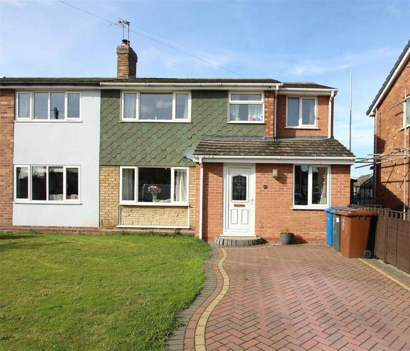 4 Bedrooms Semi Detached House for sale in Deepmore Close, Alrewas, Burton upon Trent, Staffordshire