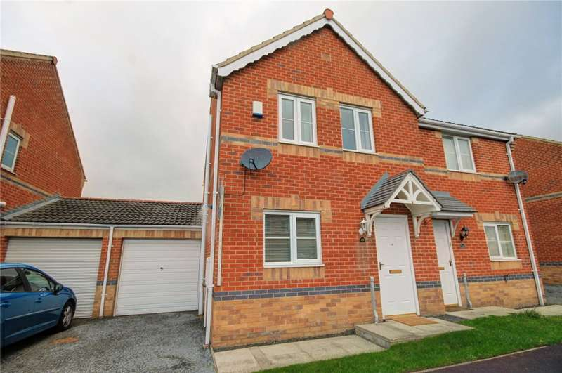 3 Bedrooms Semi Detached House for sale in The Croft, Greencroft, Stanley, DH9