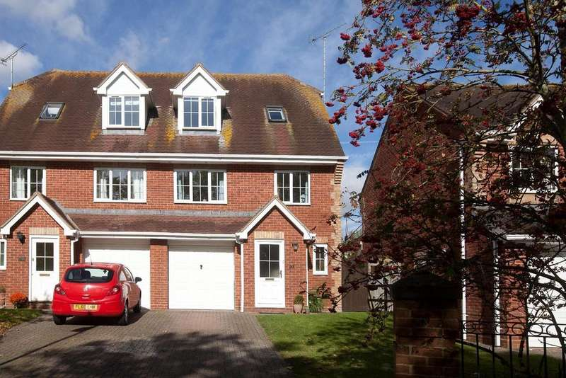 3 Bedrooms Semi Detached House for sale in Ash Crescent, Bishopdown Farm