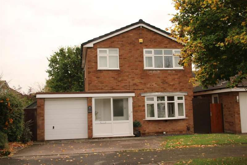 3 Bedrooms Detached House for sale in Edgar Close, Coton Green, Tamworth