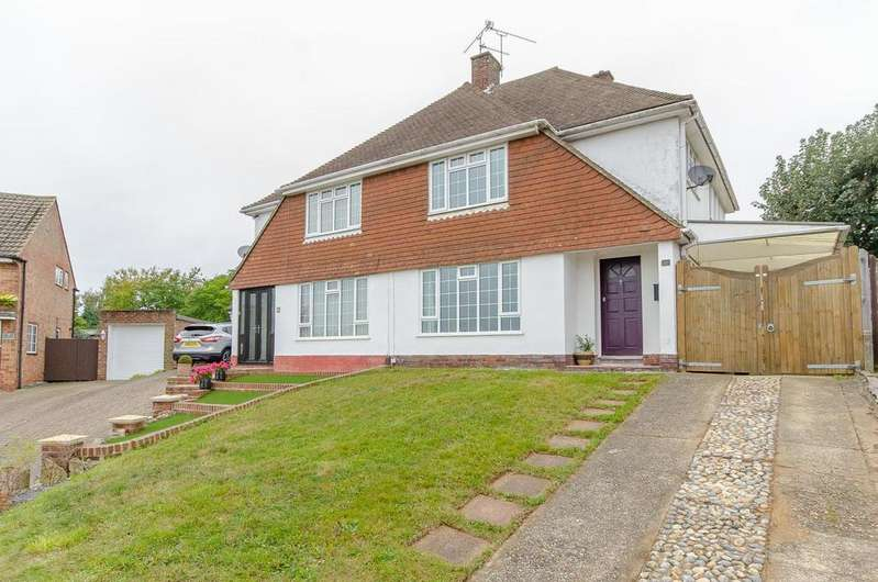3 Bedrooms Semi Detached House for sale in Plumtrees, Maidstone, Kent