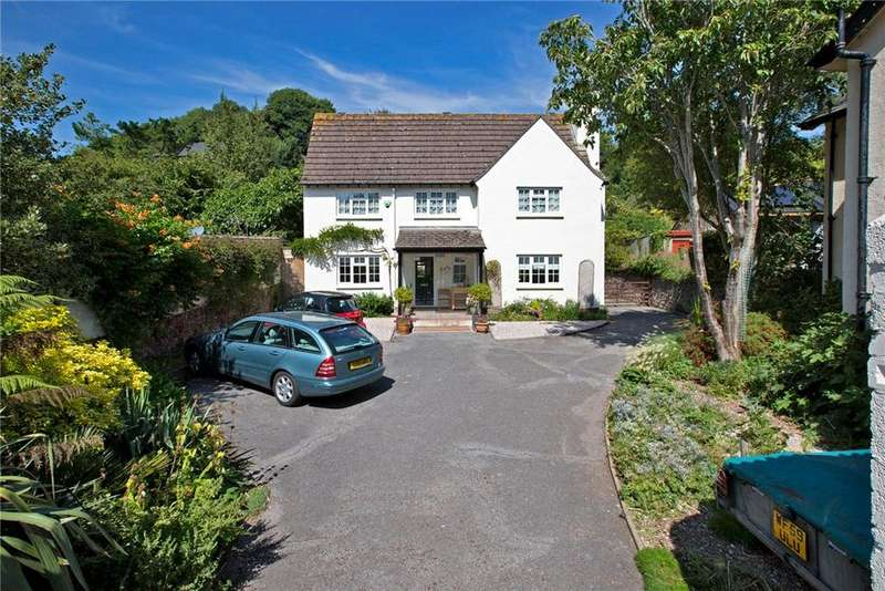 4 Bedrooms Detached House for sale in Deane Road, Stokeinteignhead, Newton Abbot, Devon, TQ12