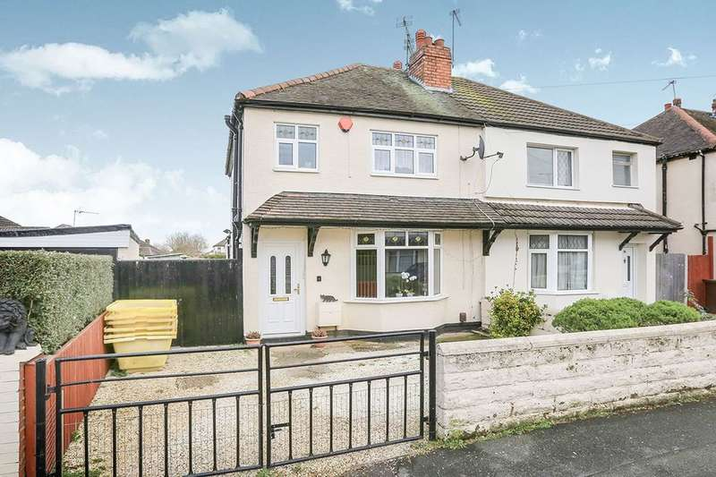 3 Bedrooms Semi Detached House for sale in Bulger Road, Bilston, WV14