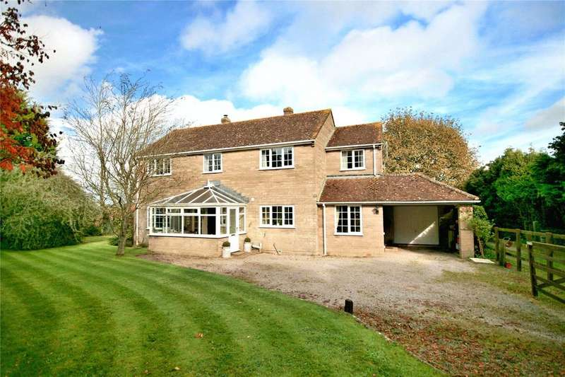 4 Bedrooms Detached House for sale in High Street, Yenston, Templecombe, Somerset