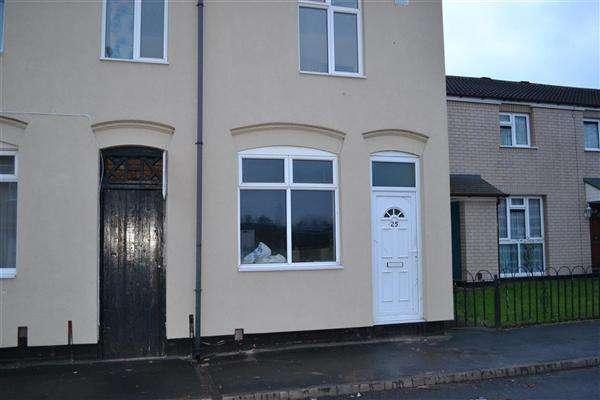 3 Bedrooms End Of Terrace House for rent in Cook Street, Darlaston