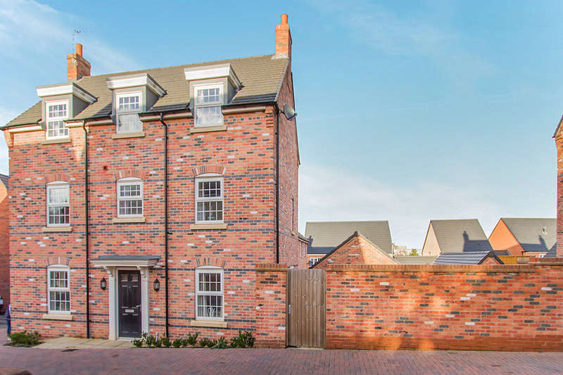 4 Bedrooms Detached House for sale in Pritchard Drive, Kegworth, Derby, DE74