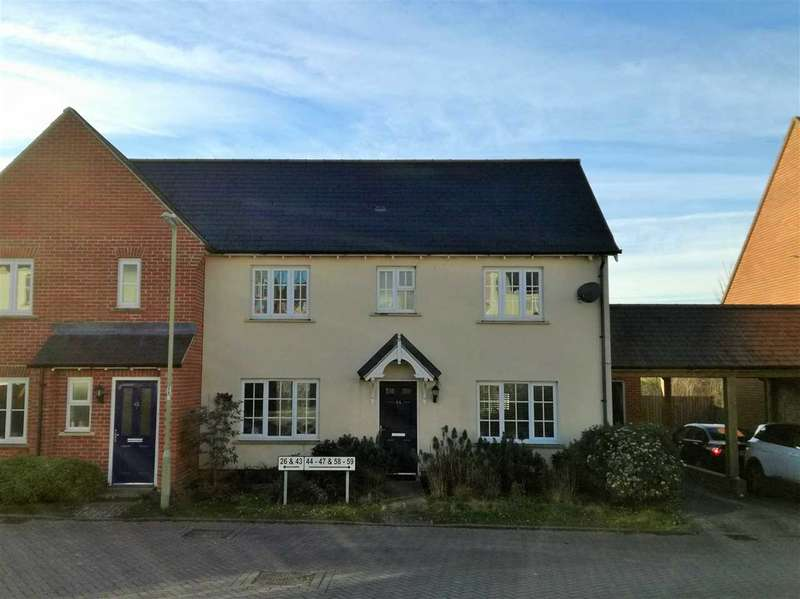 3 Bedrooms Semi Detached House for sale in Overton Hill, Overton