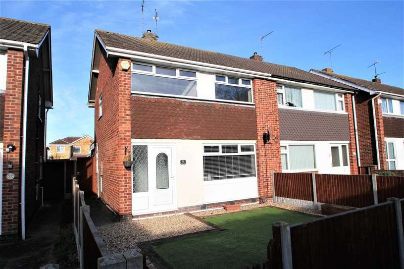 3 Bedrooms Semi Detached House for sale in Camdon Close, Lincoln