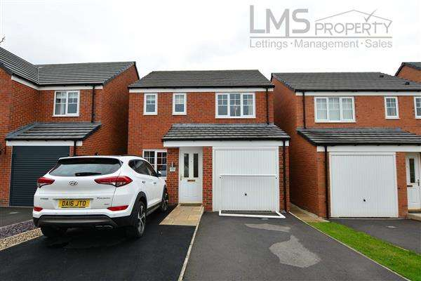 3 Bedrooms Detached House for rent in Rosemary Crescent, Winsford
